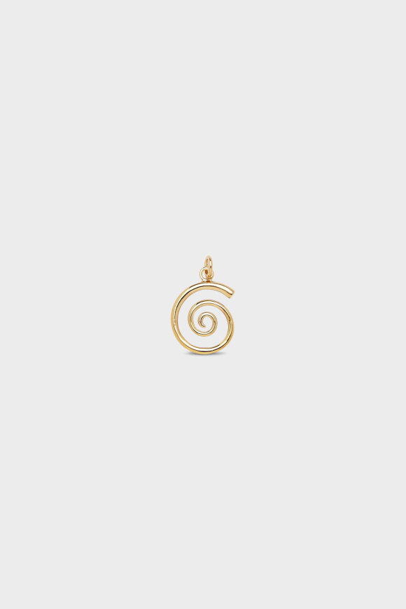 Trine Tuxen - Snail Charm Gold