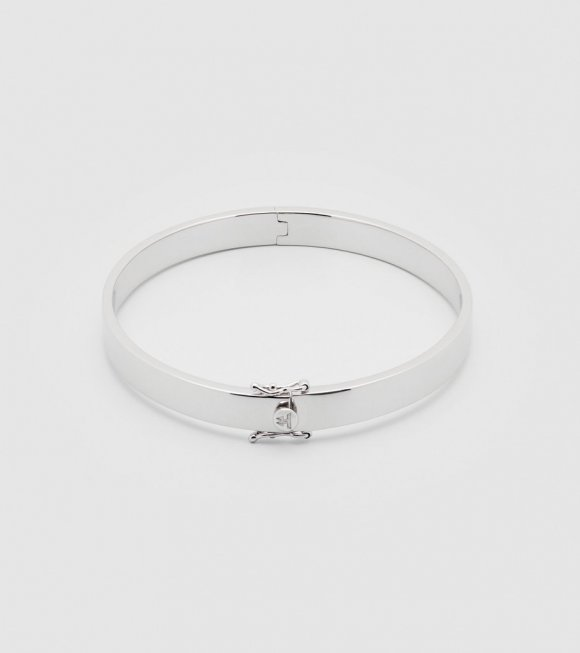 Tom Wood - Look Bangle Thin Silver