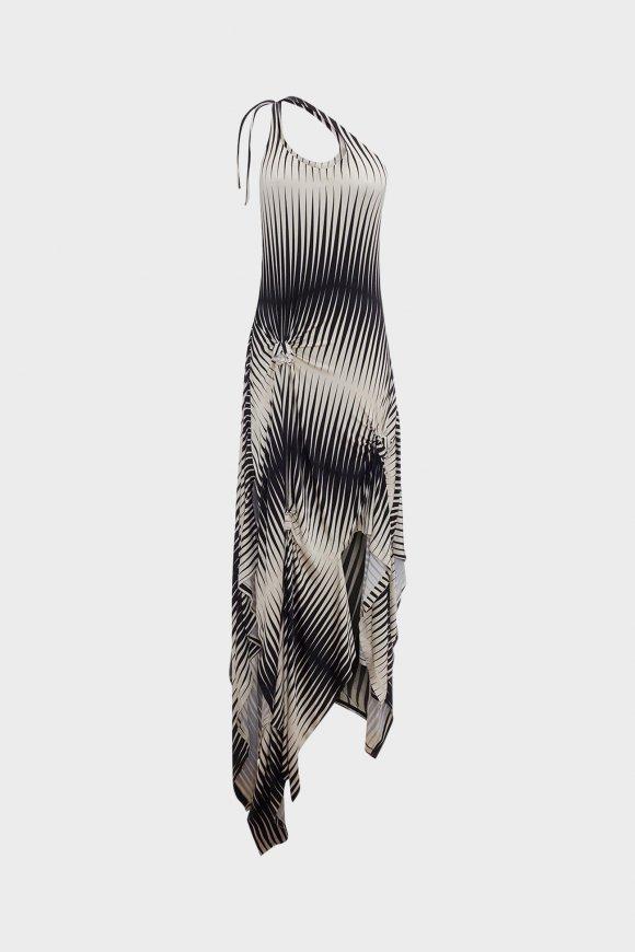 JW Anderson - Asymmetric Dress With Florettes
