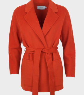 STAND Cecilie Coat red - dr. Adams