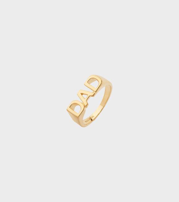 Maria Black - Dad Ring Gold