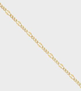 Dean Ankle Bracelet Gold