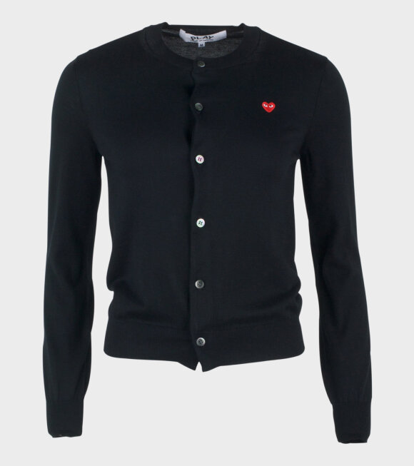 Comme des Garcons PLAY - Play Cardigan Black Women