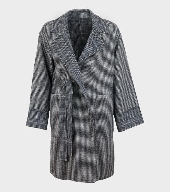 Blanche - Easy Jacket Dark Grey Melange