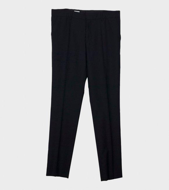 Liam Cool Wool Trousers Black
