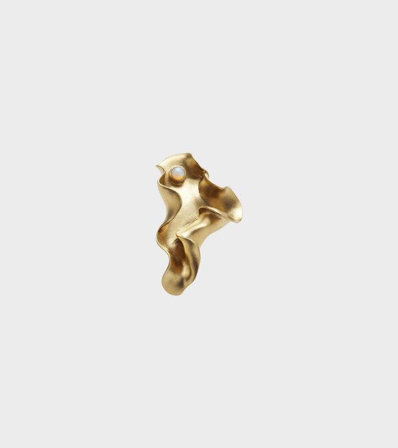 Trine Tuxen - Karen Earring Left Gold