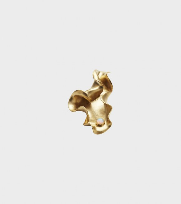 Trine Tuxen - Karen Earring Right Gold