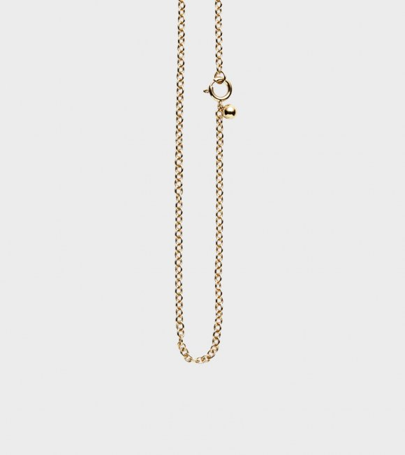 Trine Tuxen - Charms Necklace Goldplated