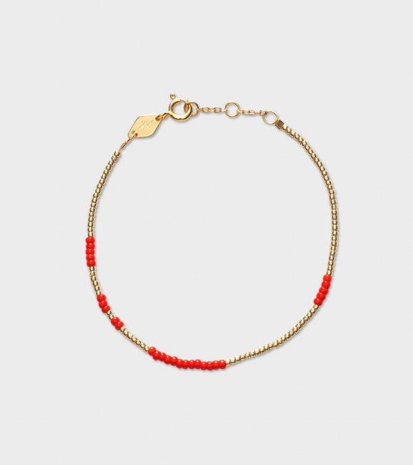 Anni Lu - Asym Bracelet Red