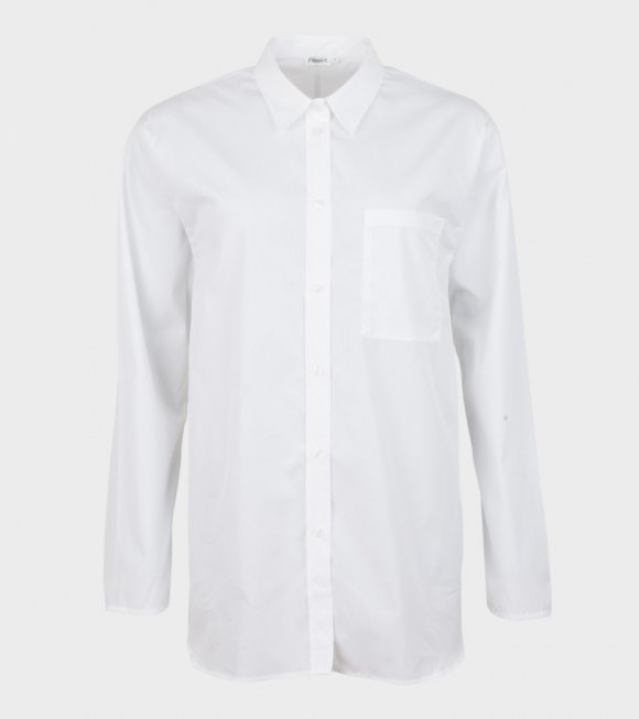 Filippa K - Poplin Shirt White