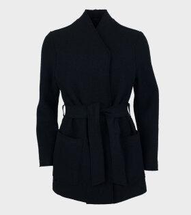 Leia Belt Jacket Black