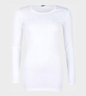 101 Rib Extra White