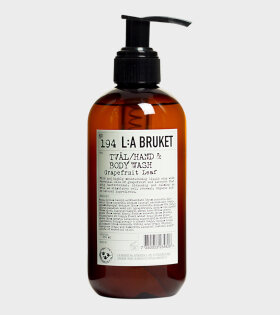 L:A Bruket Body Wash Grapefruit Leaf - dr. Adams