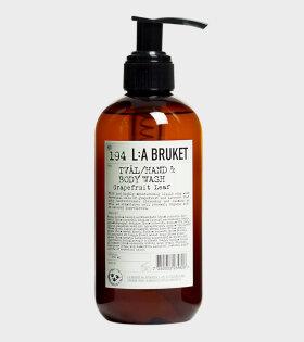 L:A Bruket Body Wash Grapefruit Leaf - dr. Adams