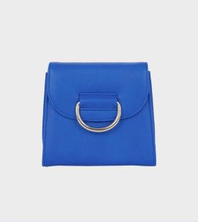 Tiny Box D Blue Calf