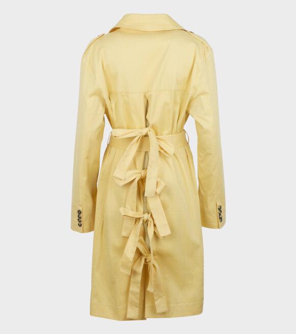 Anne Vest - Piscine Trenchcoat Yellow