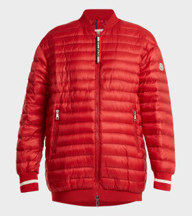 Moncler Charoite jacket red - dr. Adams