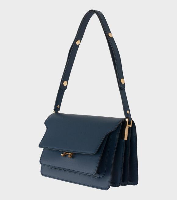 Marni - Medium Trunk Bag Blue