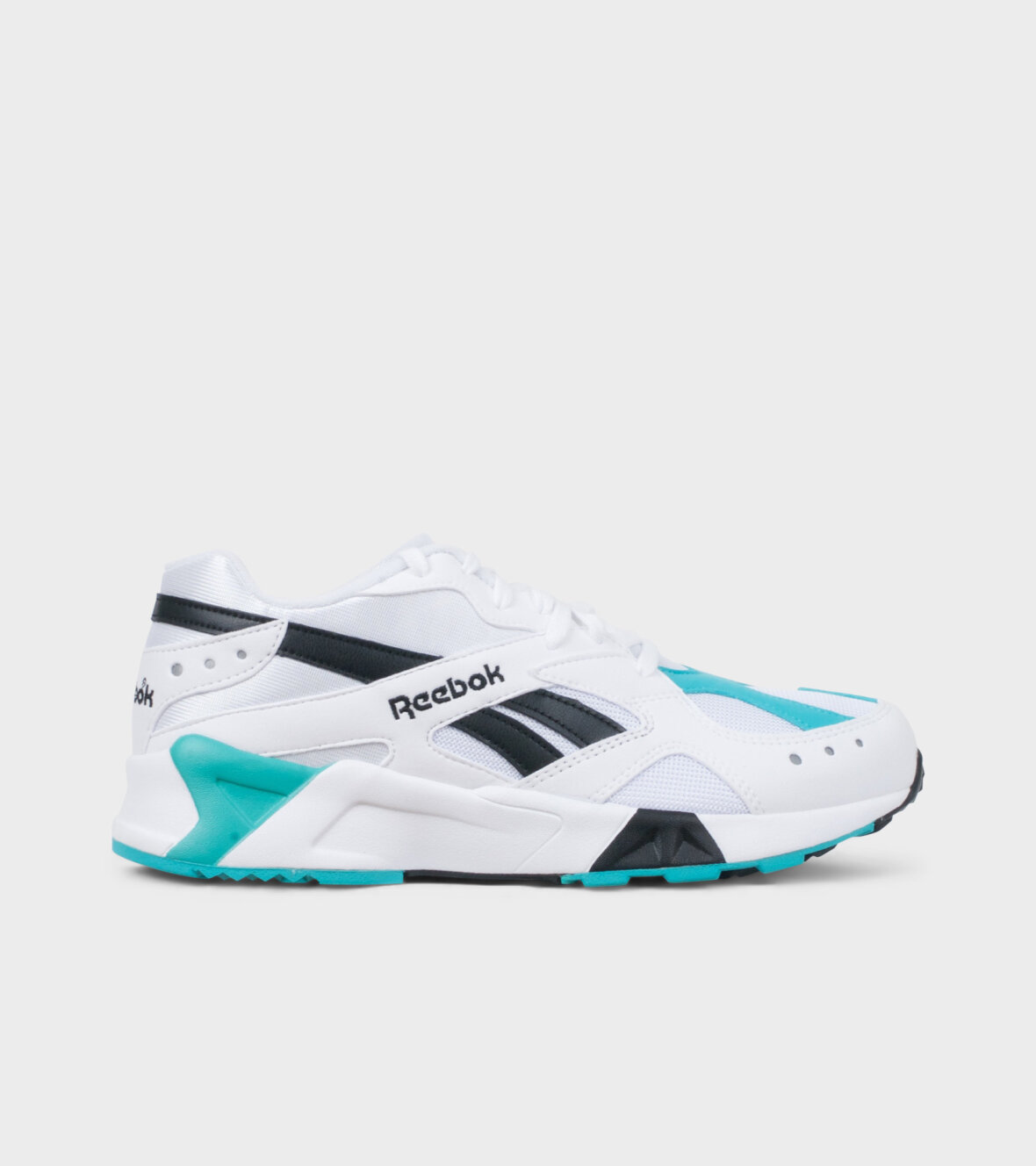 ffb97c1d3a1 Dr. Adams - Reebok Aztrek White/Green sneakers - dr. Adams