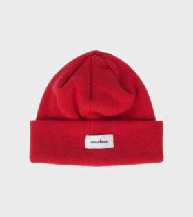 Villy Beanie Blood Red