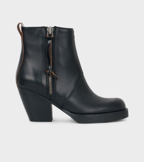 New Pistol Sh Booties Black