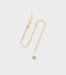 Baroque Pearl Necklace Ruby