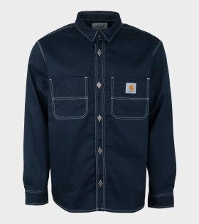 I025939 Chalk Shirt Jac