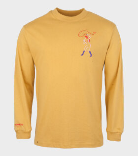 Face Down Ass Up L/S Tee Yellow