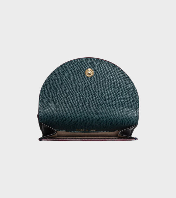 Marni - Wallet Black/Purple/Green