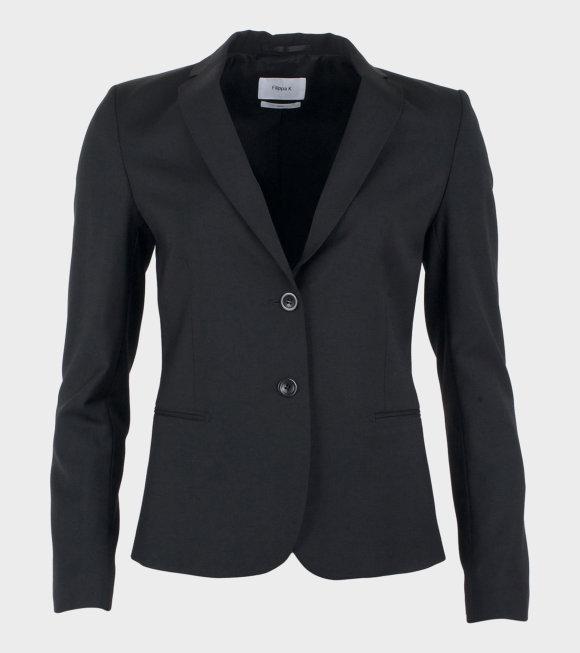 Jackie Cool Wool Jacket Black