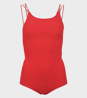 Acne Studios Halla Red Swimsuit - dr. Adams