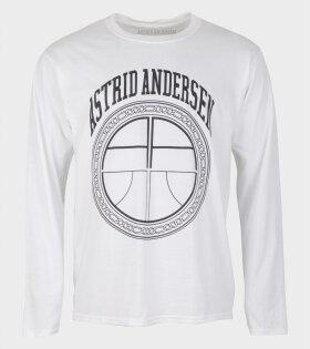 Astrid Andersen Essential Sweatshirt white - dr. Adams