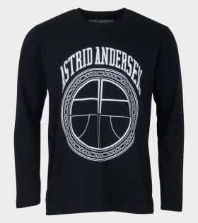 Astrid Andersen Essential Sweatshirt black - dr. Adams