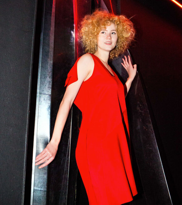 MM6 Maison Margiela - Vestito Dress Red