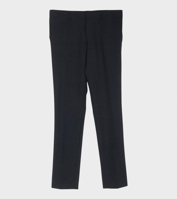 Liam Cool Wool Trousers Dark Navy