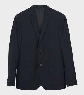 Filippa K - Rick Cool Wool Jacket Dark Navy