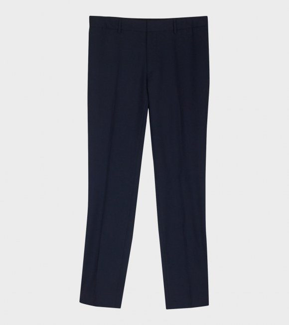 Liam Cool Wool Trousers Navy