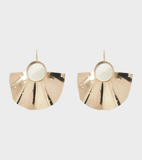 Malaika Raiss - Earring Fan Short Plain