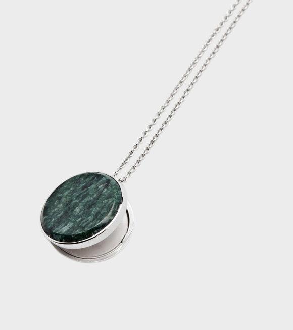 Tom Wood - Medallion Green Marble Large