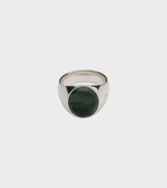 Tom Wood - The Oval Green Marble