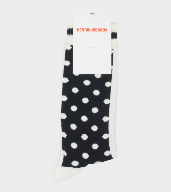 Henrik Vibskov - Twix Socks Black/White