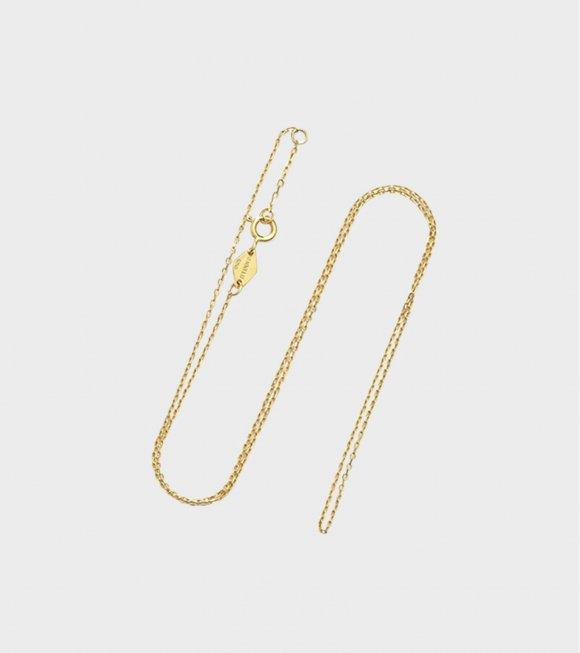 Anni Lu - Cross Chain Necklace Gold 45