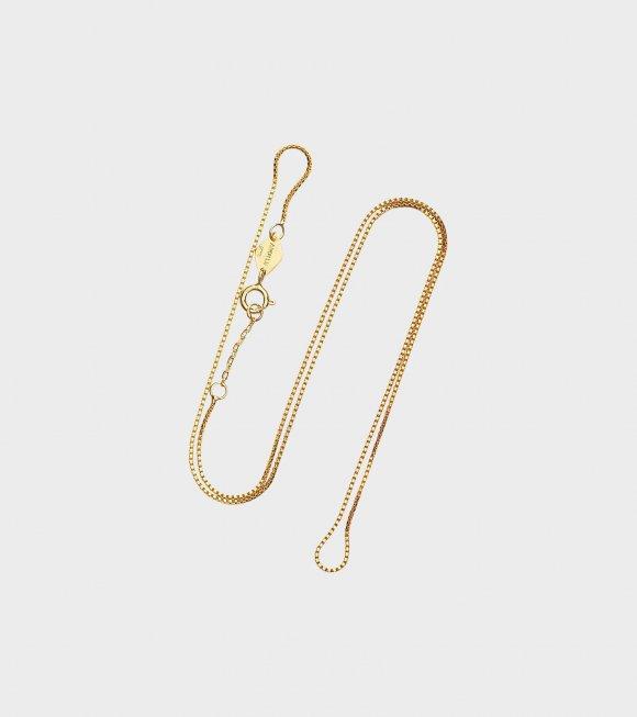 Anni Lu - Cross Chain Necklace Gold 55