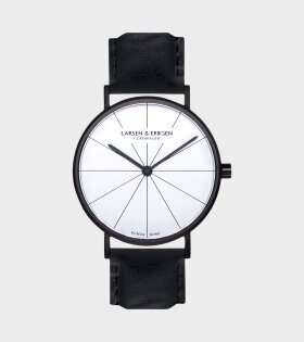 Black/White/black watch 37mm - dr. Adams