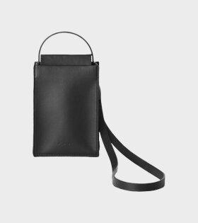 Sling Tote Bag Black 02F18ST L