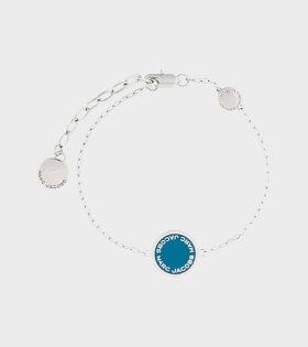 M0008540 Enamel Bracelet Blue