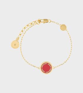 M0008540 Enamel Bracelet Red