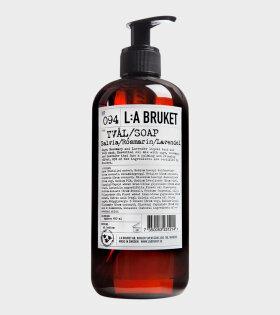 094 Soap 450ml salvia/rose/lav