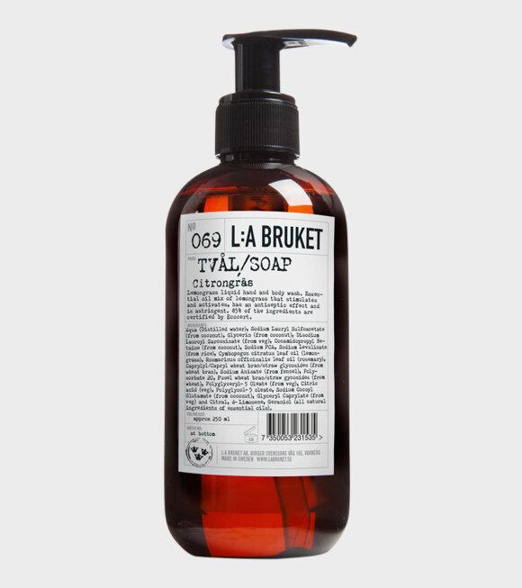 L:A Bruket - 069 Soap Citrongräs 450ml