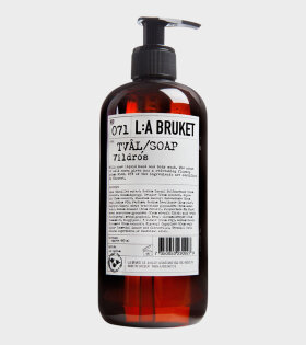 071 Soap 450ml Wildrose
